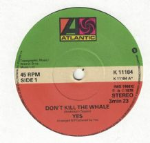 Yes - Don't Kill The Whale c/w Abilene
